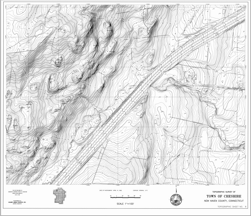 Topographic Map Ct.Map Gallery